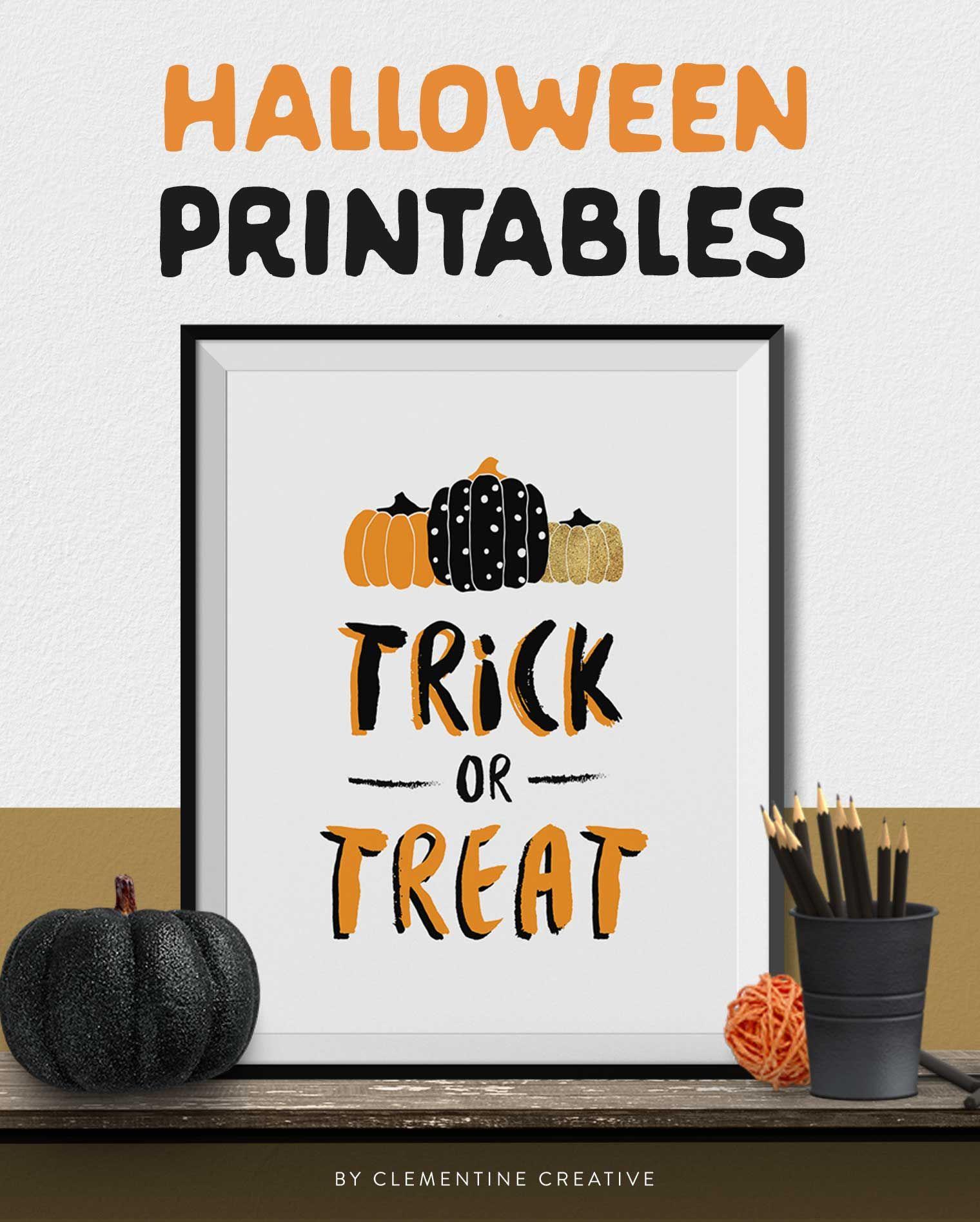 Free Printable Halloween Wall Art Modern Prints For Your Halloween Decor Halloween Wall Art Halloween Labels Printable Halloween Printables