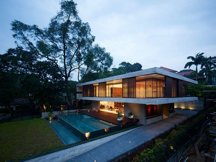 The Luxury JKC1 House in Singapore by ONG - Adelto