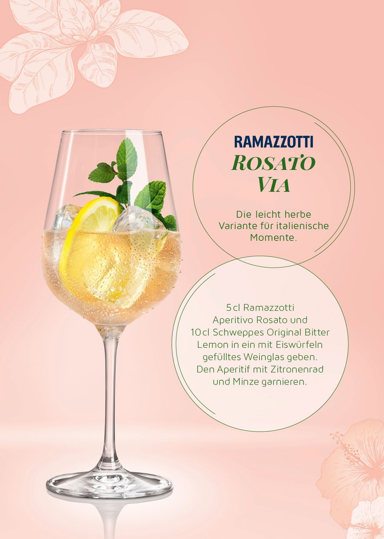 Unser spritziger Aperitif - Ramazzotti Aperitivo Rosato   getränke ...