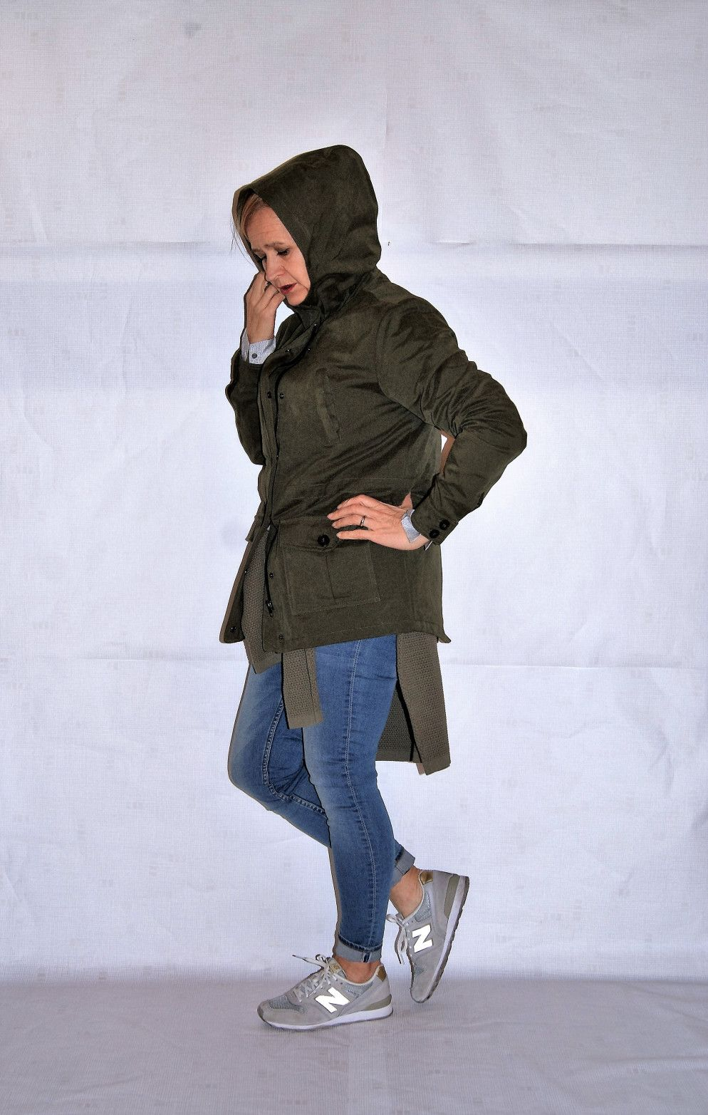 #parka #sneakers