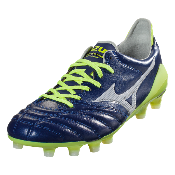 new arrival a0257 24bc2 Mizuno Morelia Neo II MIJ Soccer Cleat - Blue Depths/White ...