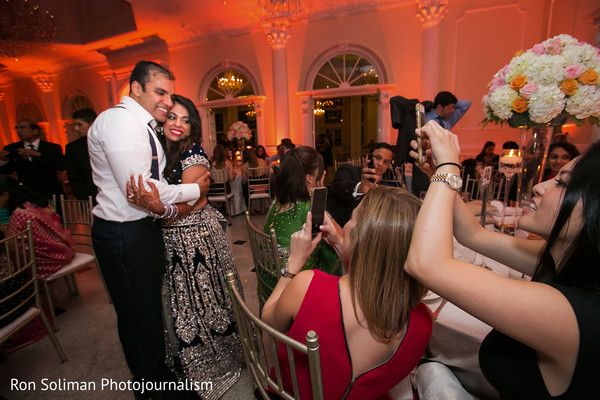 Guests portraying the newlyweds. http://www.maharaniweddings.com/gallery/photo/102277