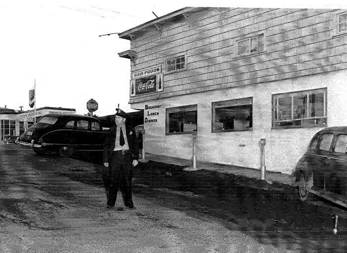 Corner Of Hurbert Hwy 101 1950 Old Times Pinterest Newport Oregon And Oregon Coast