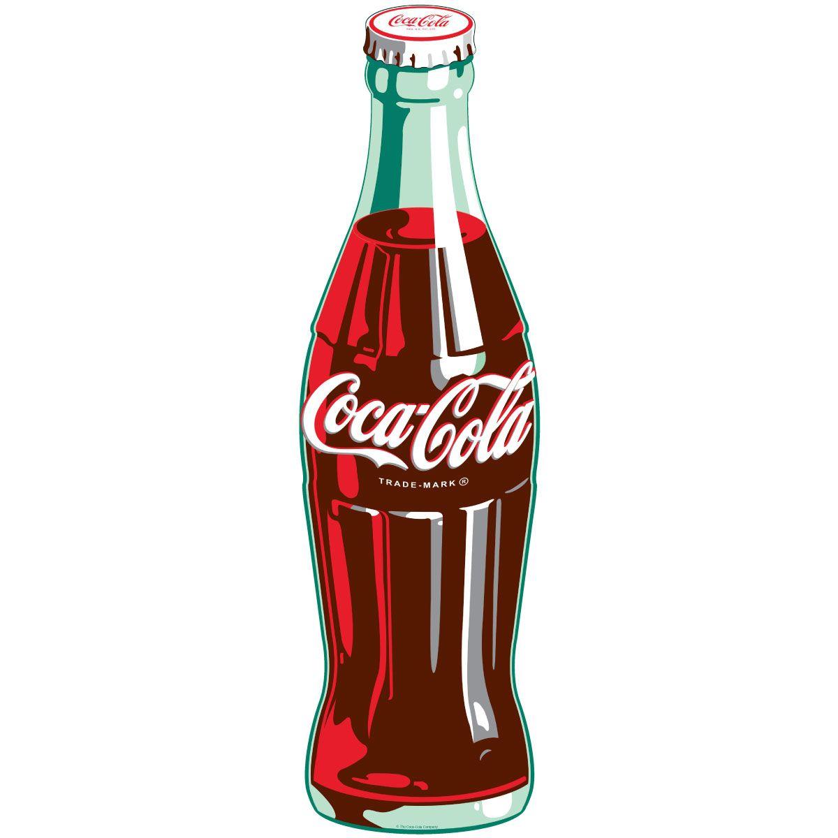 Coca-Cola Green Contour Bottle Wall Decal | Pinterest | Alter