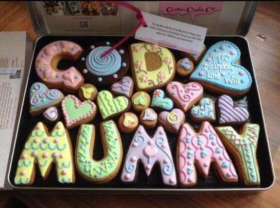 A celebratory Godmother #cookie box
