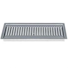 Stainless Steel Flush Mount Drip Tray W Drain Drip Tray Brushed Stainless Steel Stainless Steel