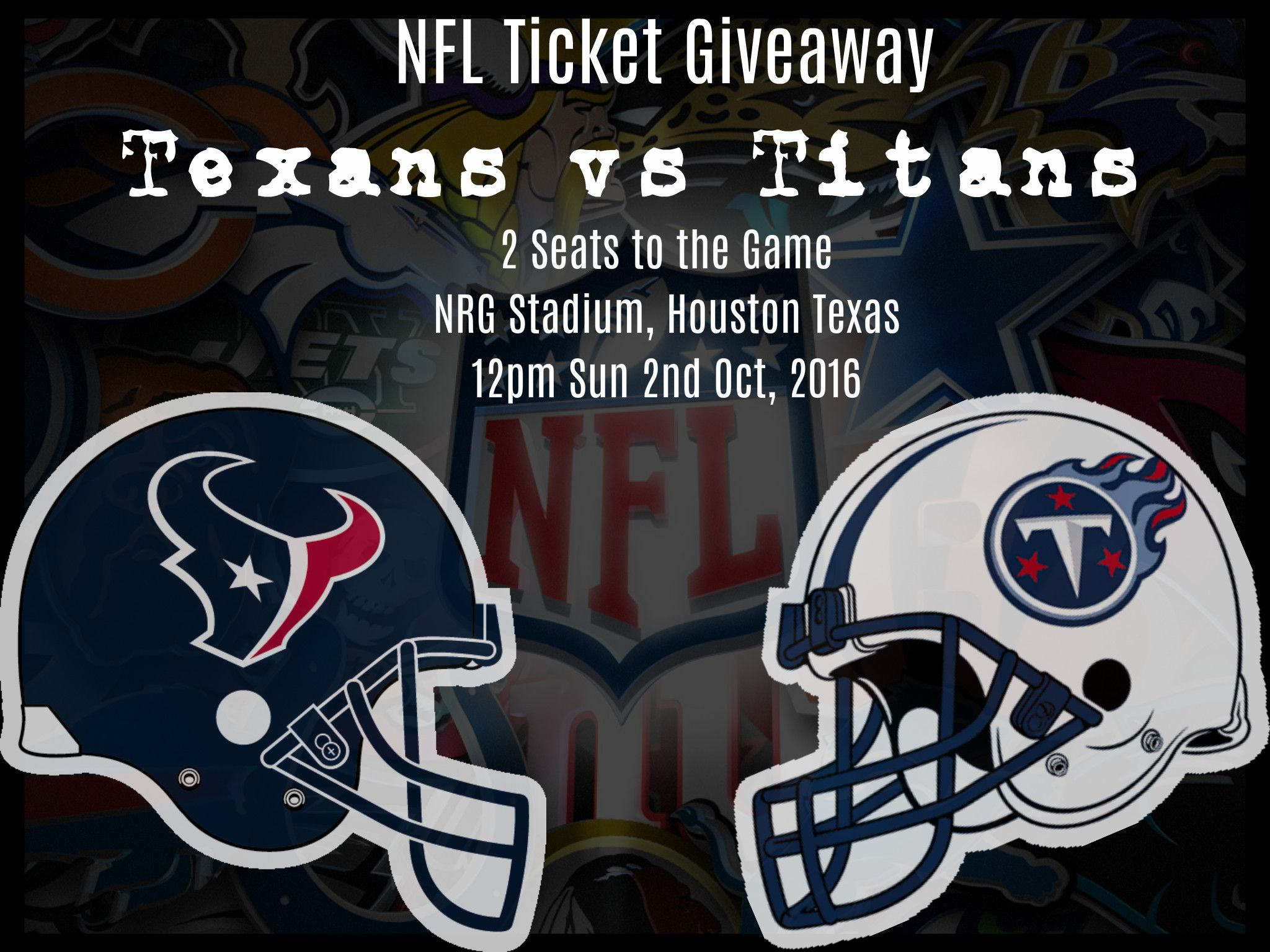 Texans Tickets Giveaway
