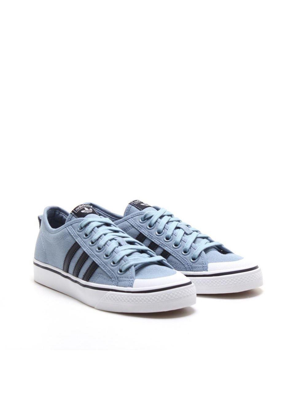 adidas originali nizza basso: tattile blu zapatos pinterest adidas