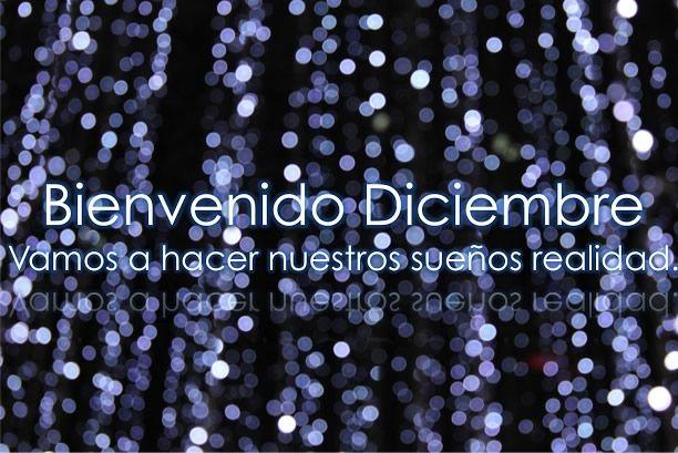 bienvenido diciembre -