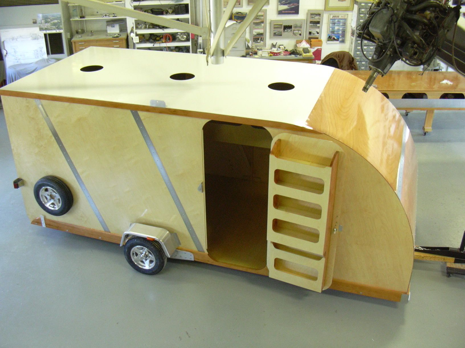What's New at Staudacher's Shop Trailer, Small camping