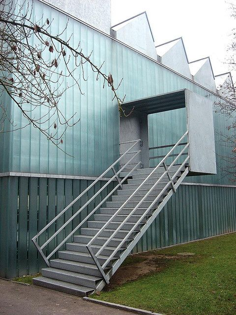 Gigon Guyer, Winterthur Museum of Art Extension, 1993-95
