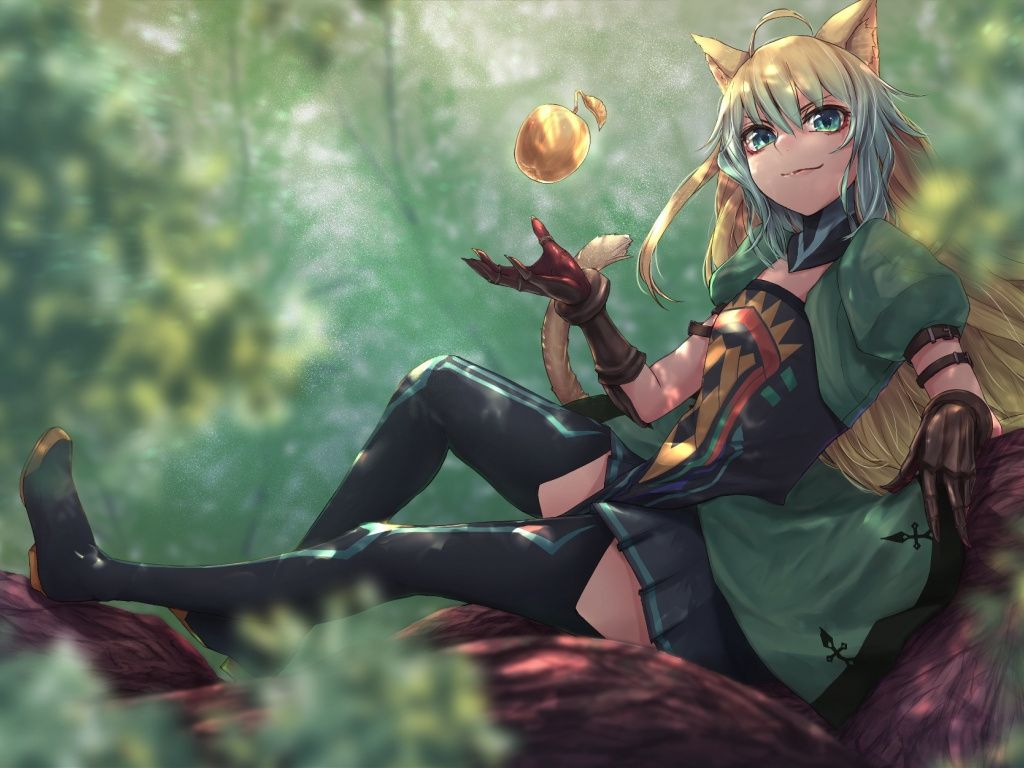 Atalanta Fateapocrypha Long Hair Girl Anime Wallpaper