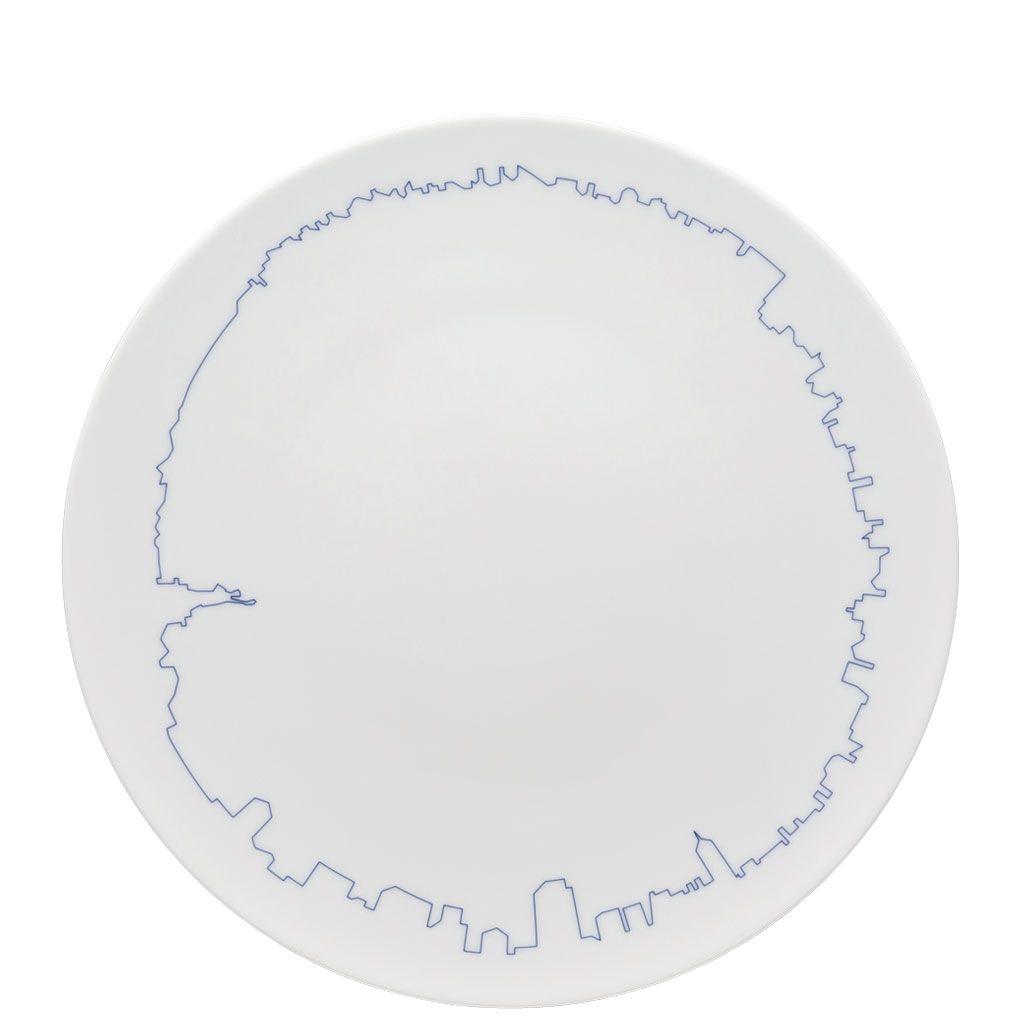 TAC Gropius BIG Cities New York Plate, Rosenthal | Küchenausstattung ...