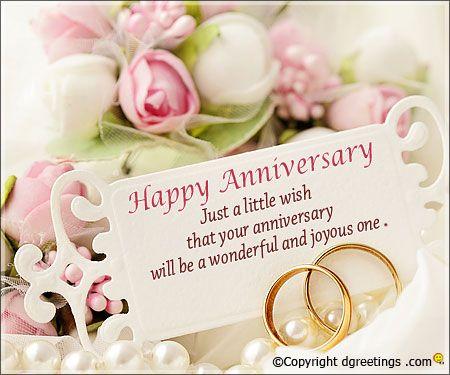 Happy Anniversary Just A Little Wish Wedding Day Wishes Wedding Anniversary Wishes Happy Marriage Anniversary