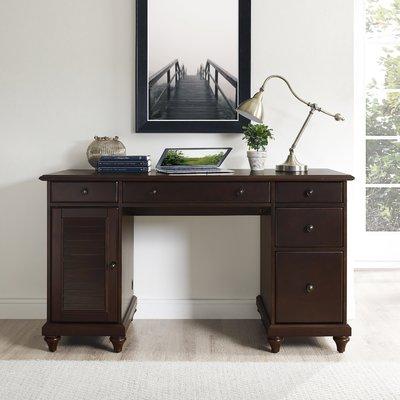 Three Posts Hunterstown Desk Wood Computer Desk Computer Desk Crosley Furniture
