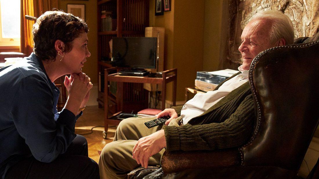 The Father Movie Anthony Hopkins And Olivia Coleman In 2020 Anthony Hopkins Sundance Film Festival Sundance Film