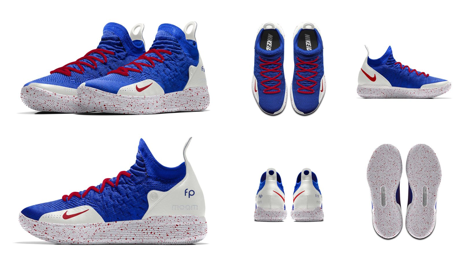 separation shoes 7d77e 808f6 Nike KD 11  France  - Nike Let Players Design Sneakers for NBA s 2018-19  Opening Week   Sole Collector