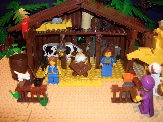 Fotos e ideas para decorar el Beln de Navidad Lego Legos and