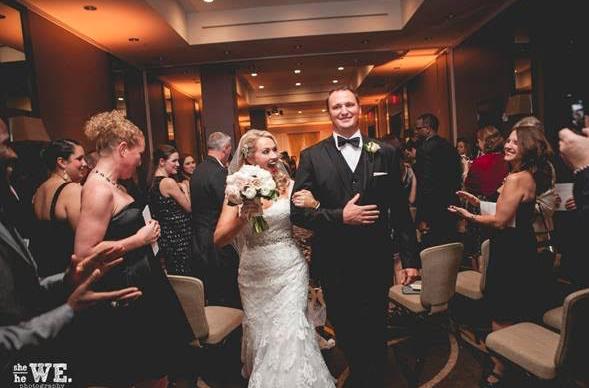 Hutton Hotel Nashville Wedding Reception Glamorous