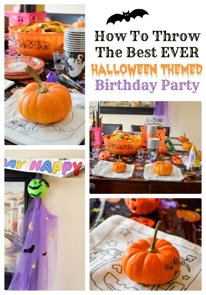 Halloween Theme Party Ideas For Kids.How To Throw The Best Ever Halloween Themed Birthday Party