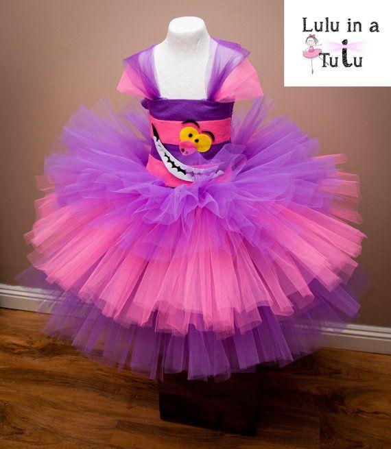 Cheshire Cat Alice In Wonderland Inspired Tutu By Luluinatutuuk