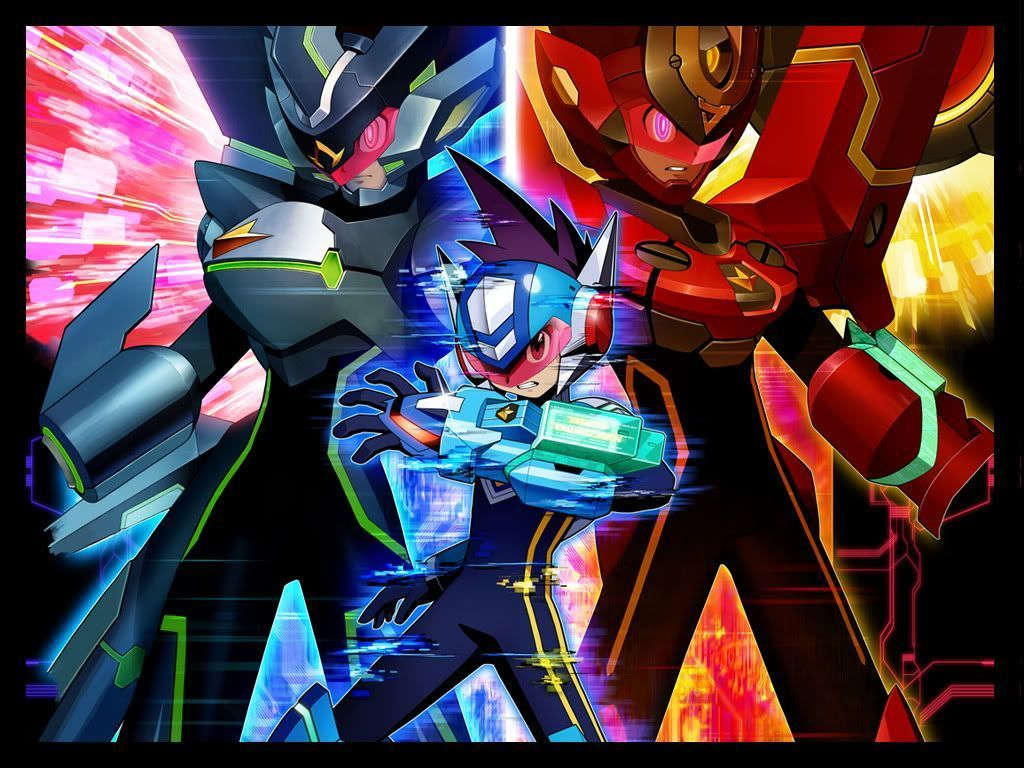 Mega Man Star Force Wallpapers Wallpaper Cave ロックマン