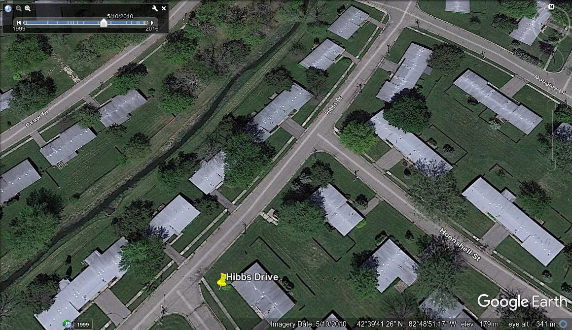 KPart(Capehart) military housing of Selfridge Air
