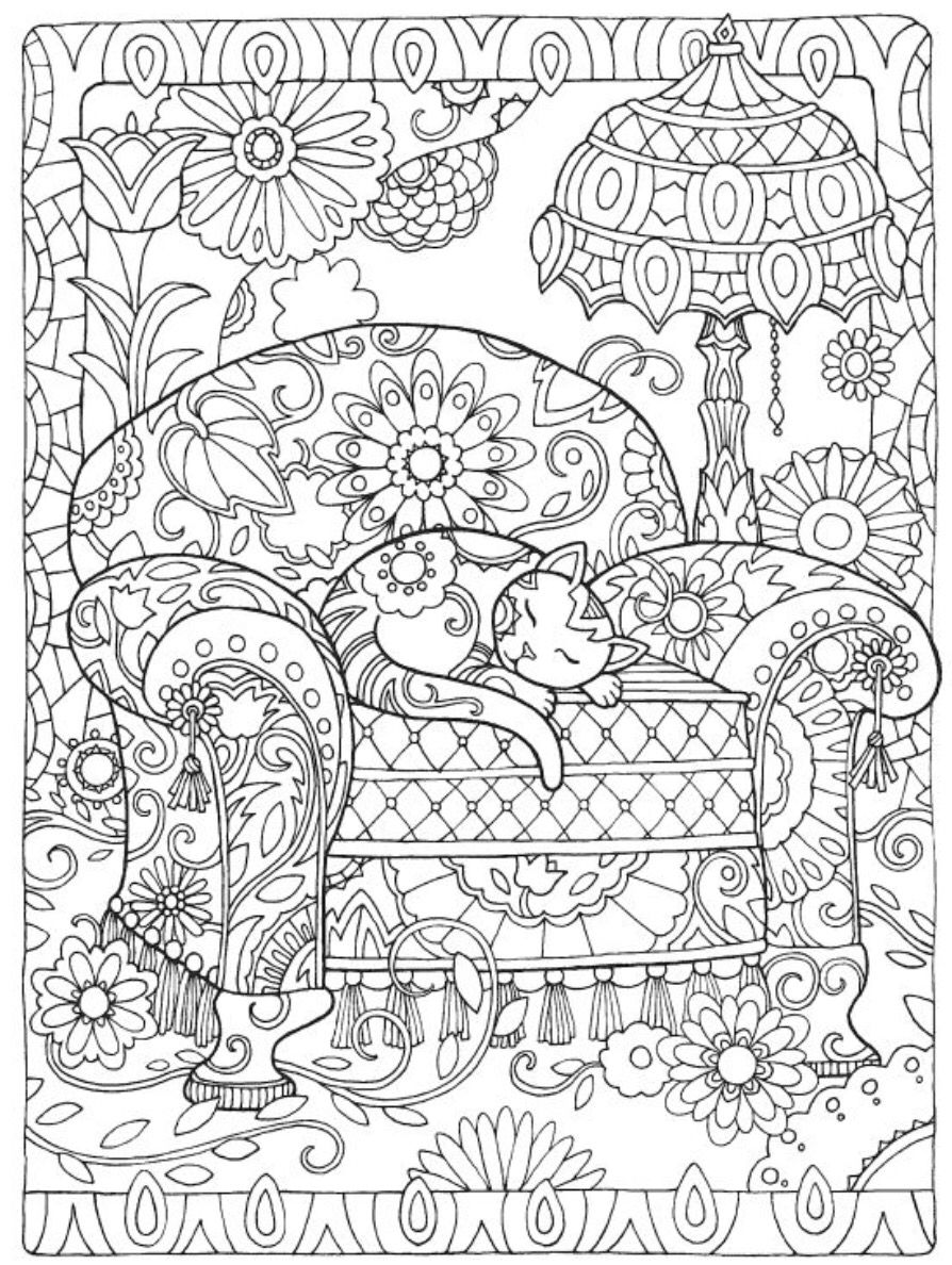 Pin By Kimberly Sorensen Harper On Coloring Pages Cat Coloring Book Coloring Pages Creative Haven Coloring Books