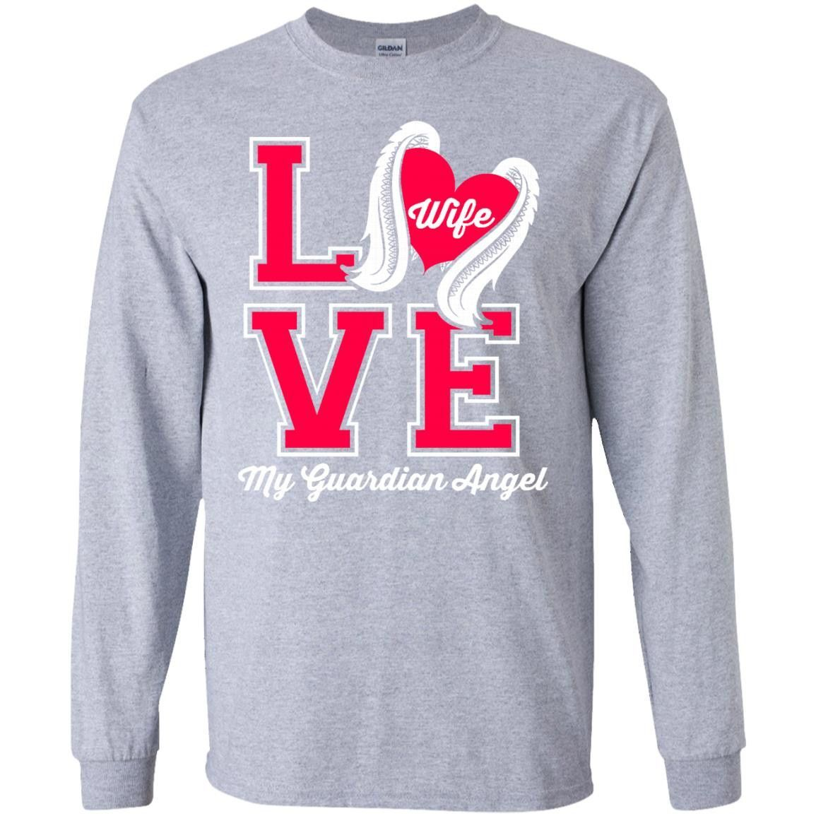 Love Wife LS Ultra Cotton Tshirt