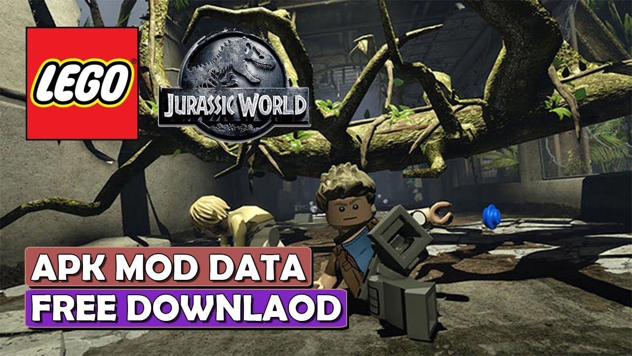 lego jurassic world mod apk 2018