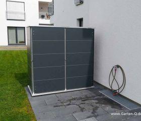 Gartenschrank Metall Kunststoff Garten Q Gmbh Grill Unterstand Gartenschrank Gartenhaus Gross