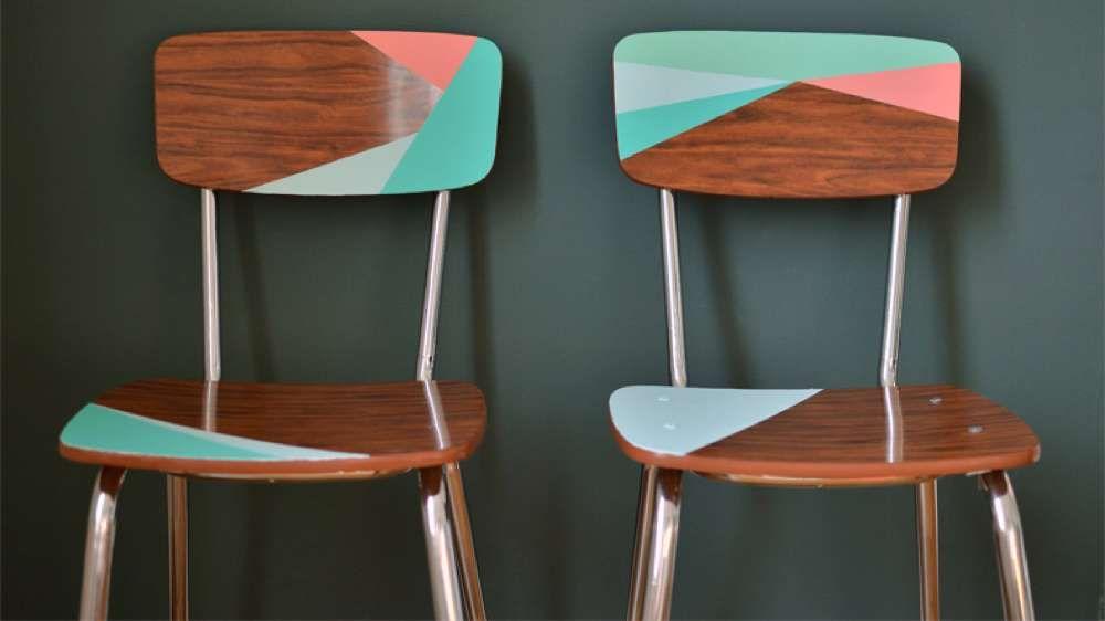 chaises formica customisées Inspiration Décoration Intérieur