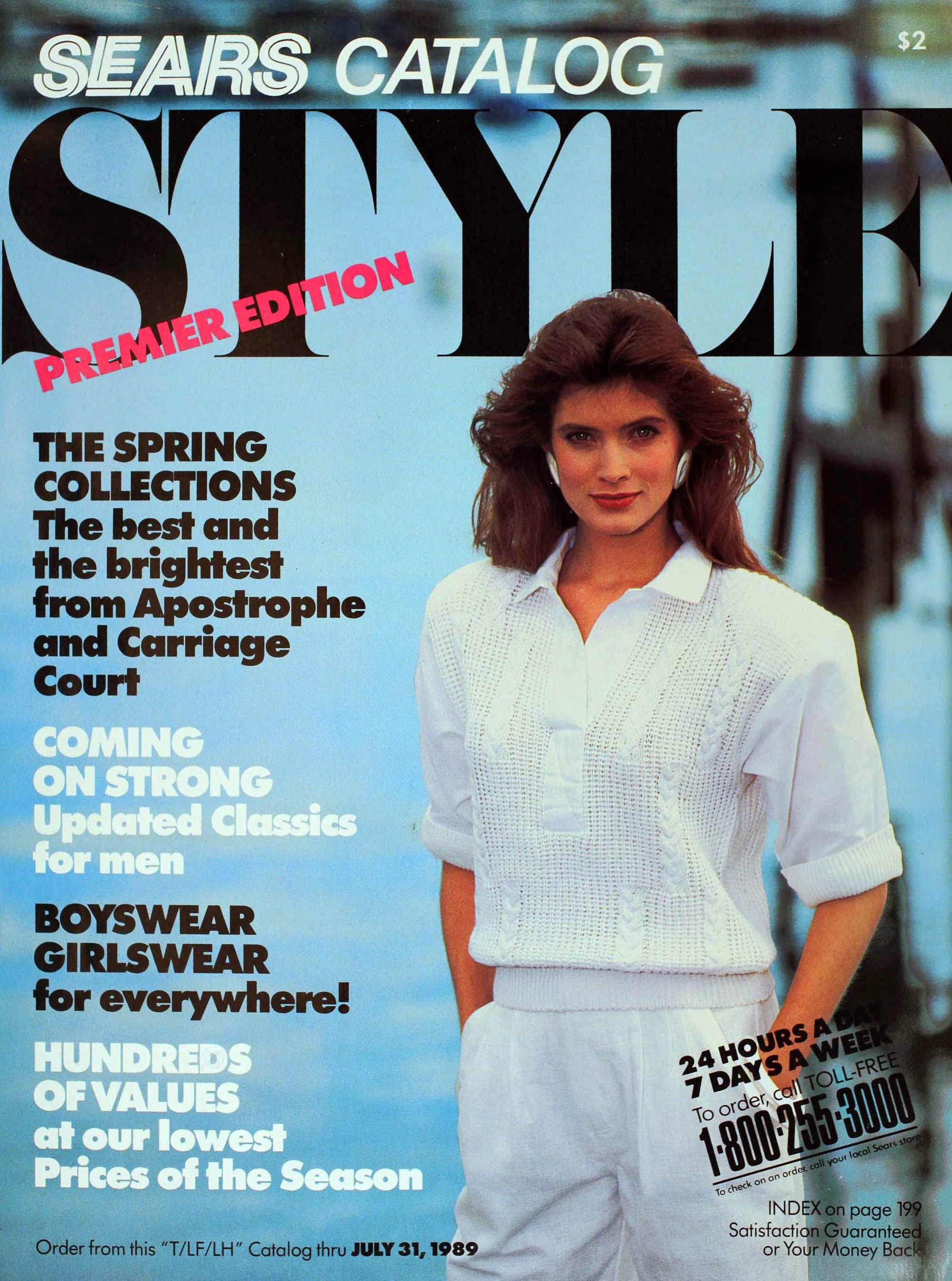 Sears Christmas Catalog 2020 1989 Sears STYLE Catalog in 2020 | Christmas catalogs, Sears