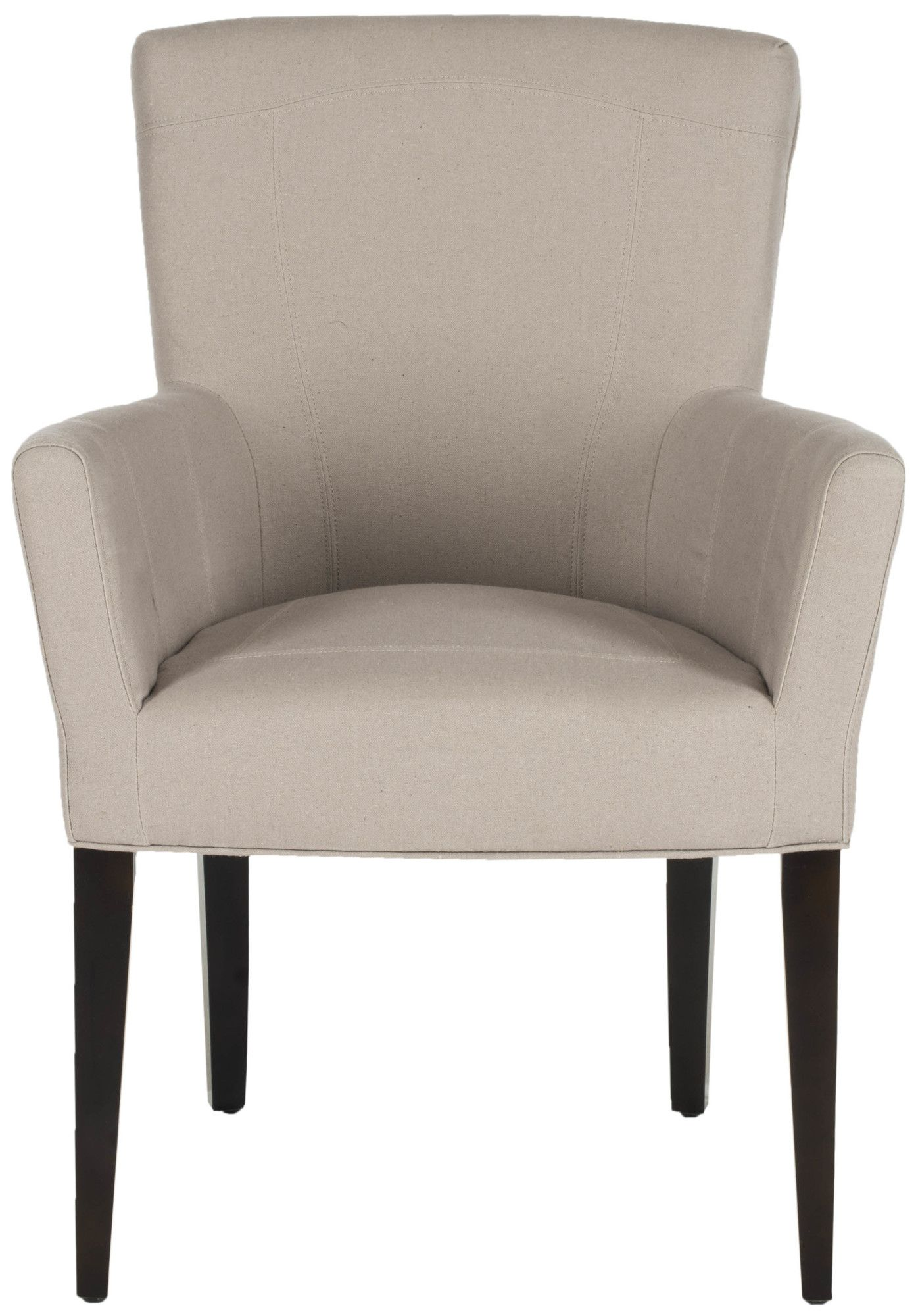Heywood Armchair and Ottoman White accent chair, Chair