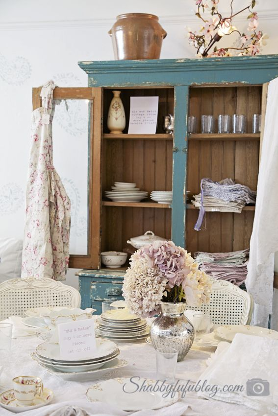 British sensibilities and shopping shabby chic muebles pinterest muebles ideas y - Decoracion shabby chic romantico ...
