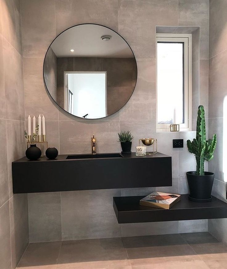 Photo of These inspiring bathroom mirror ideas will change your self-image. #Bat…