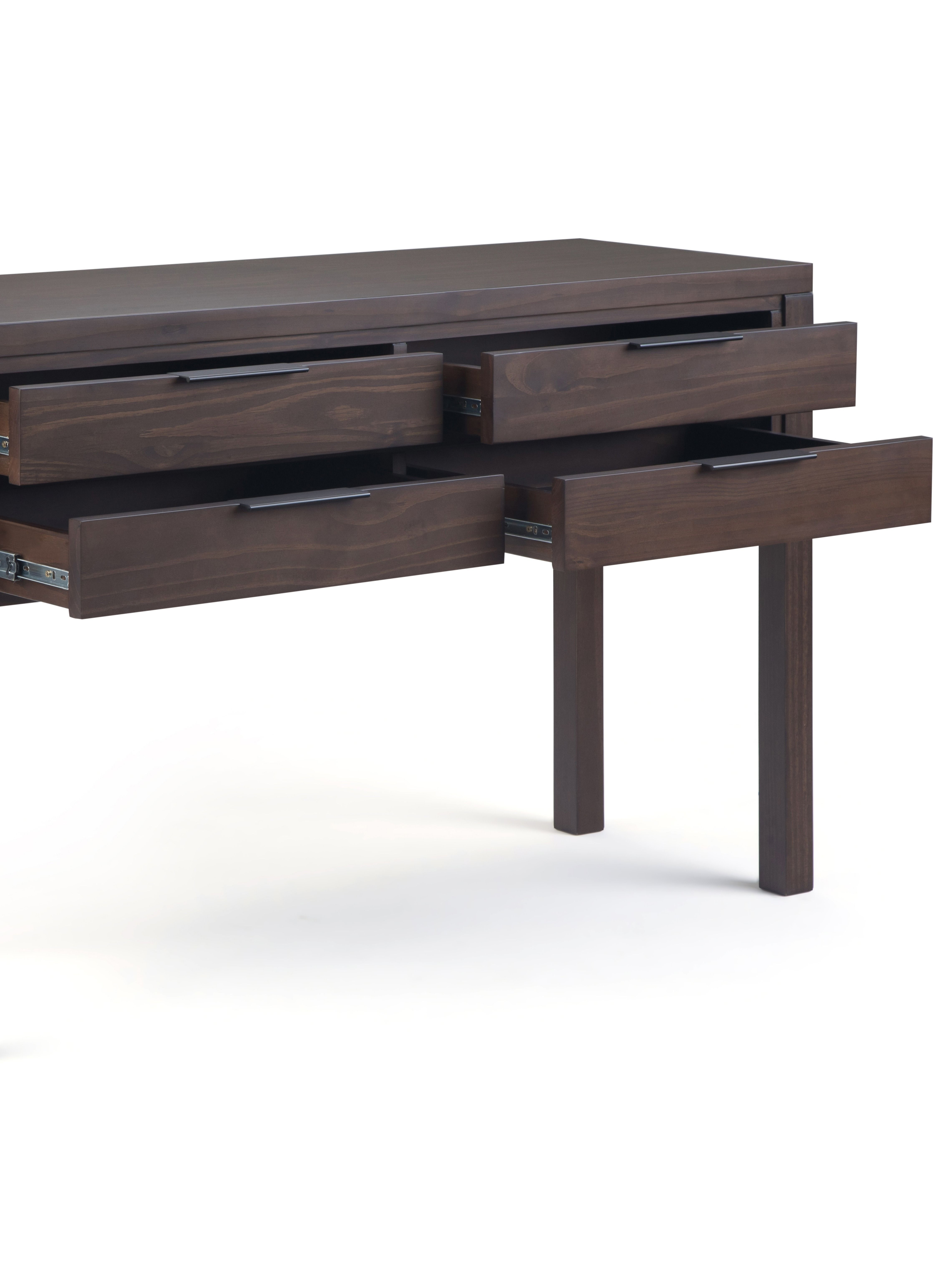 new product 3c0a9 ca6e5 The Hollander Entryway Console Table measures 16' d x 48' w ...