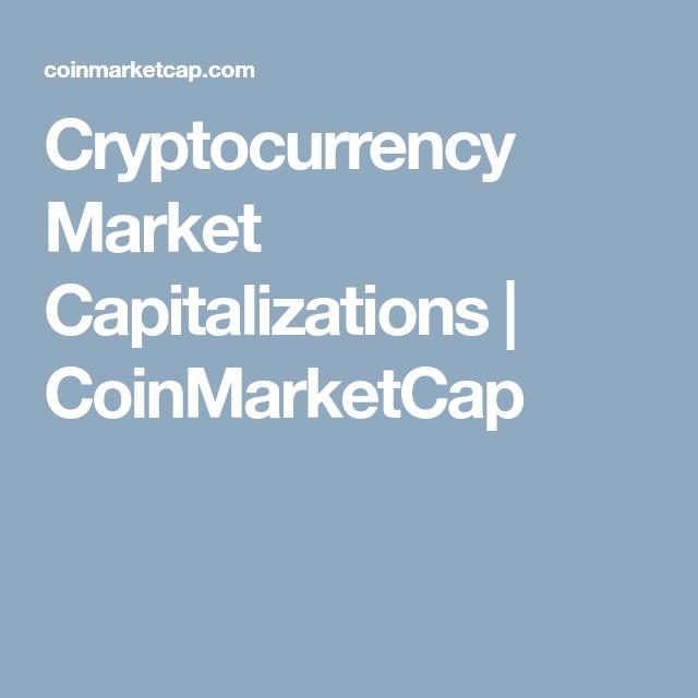 all cryptocurrencies coinmarketcap