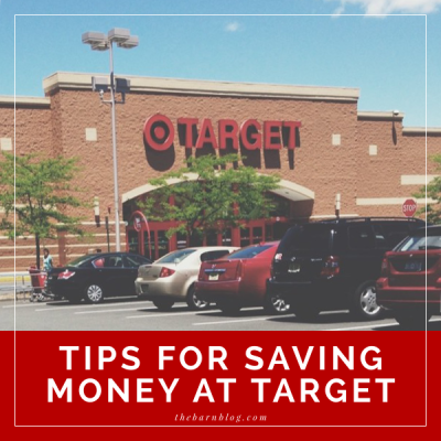 Tips for Saving Money at Target | The Barn