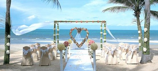 Beach theme wedding ideas my dream wedding pinterest wedding beach theme wedding ideas junglespirit Gallery