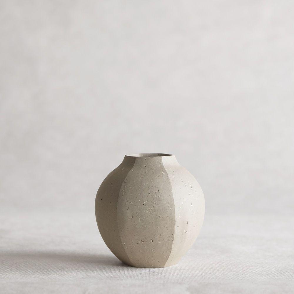 studio pottery kiln pottery artisarn hand built vase Japanese ikebana vase handbuilt Vase japan pottery earthenware vase