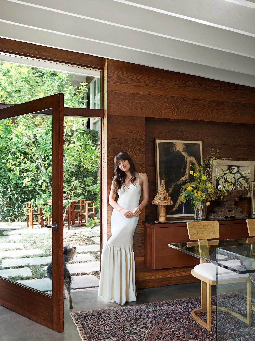 Photo of Step Inside Dakota Johnson's Midcentury-Modern Home