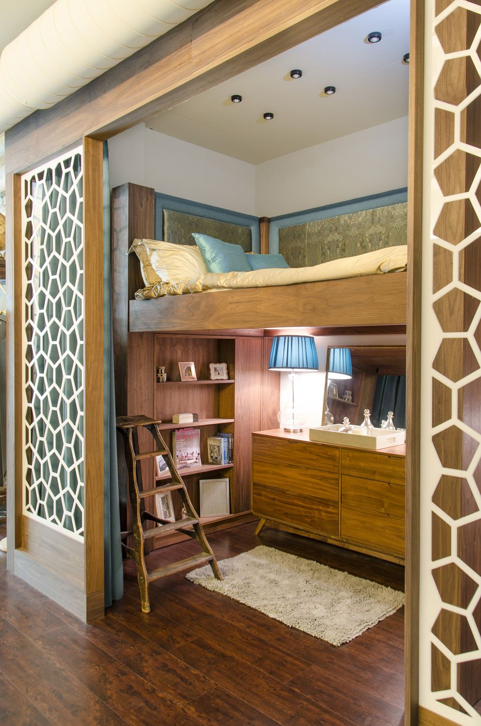 Built In Bedroom Furniture Designs Custom Walls Builtin Bed And Bookshelf For Lauri Howell Designs