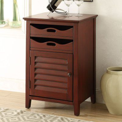 Acme Furniture Holland Wine Cabinet - 97134