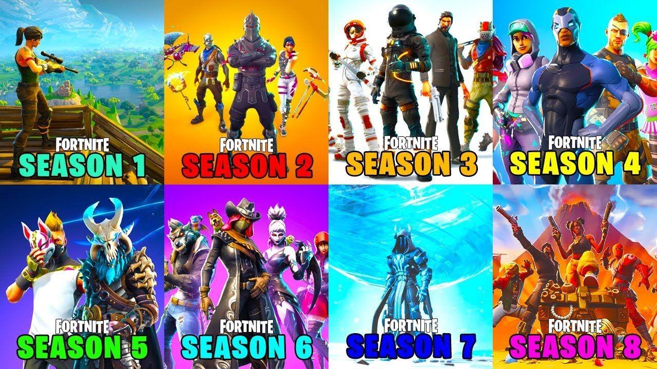 Season 1 Vs Season 2 Vs Season 3 Vs Season 4 Vs Season 5 Vs Season 6 Vs Fortnite Seasons Season 4