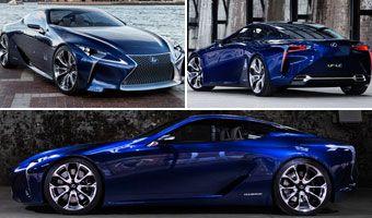 Lexus LF-LC Blue, la última evolución del genial prototipo