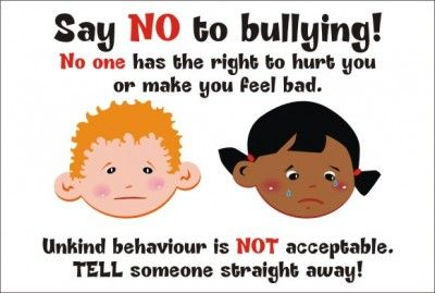 Say No To Bullying Quotes Say No To Bullying No One Has The Right Large 3521l Bullying Quotes Bullying Bullying Posters