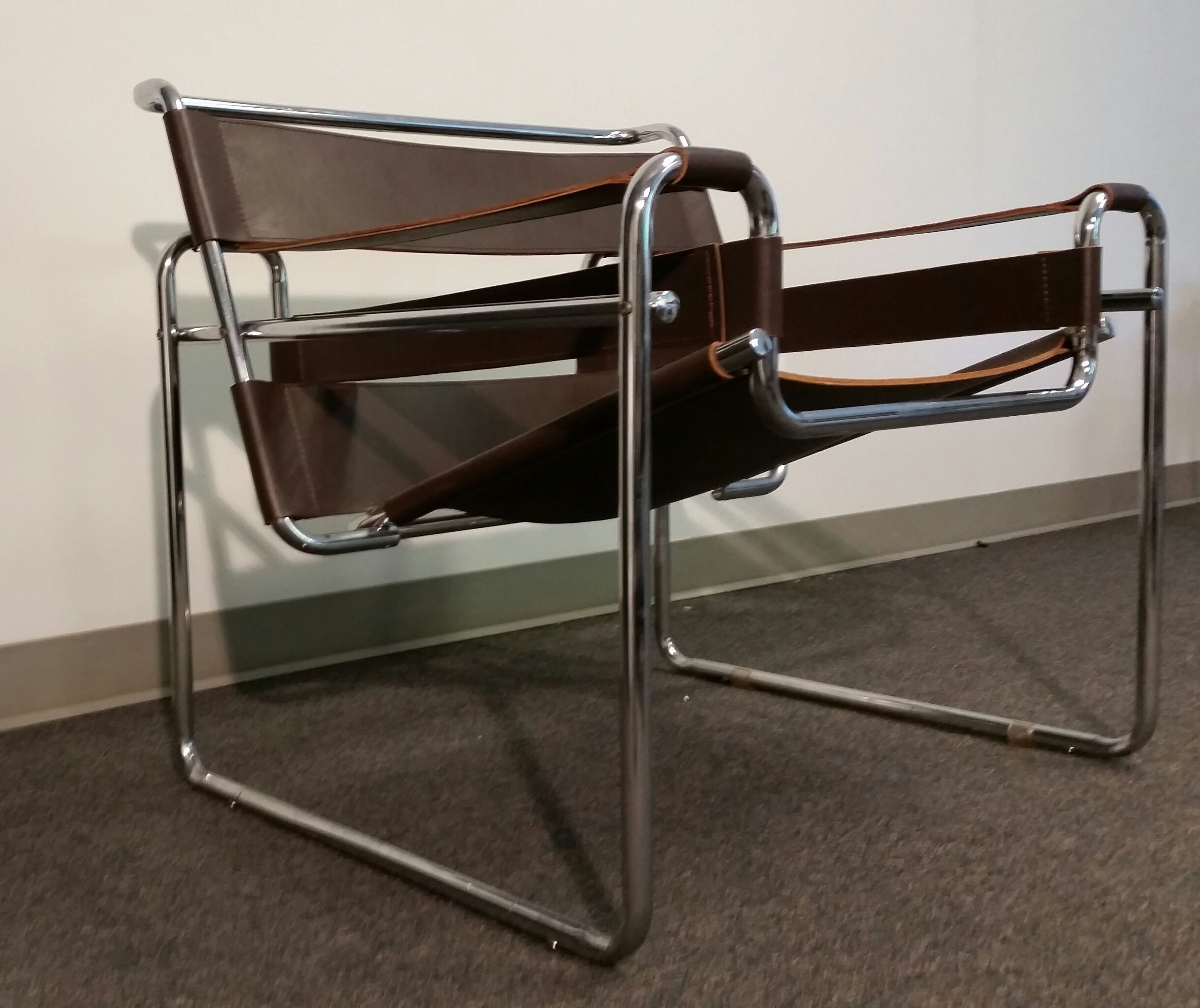 Original B3 Wassily Chairs Built By Gavina This Vintage Wassily