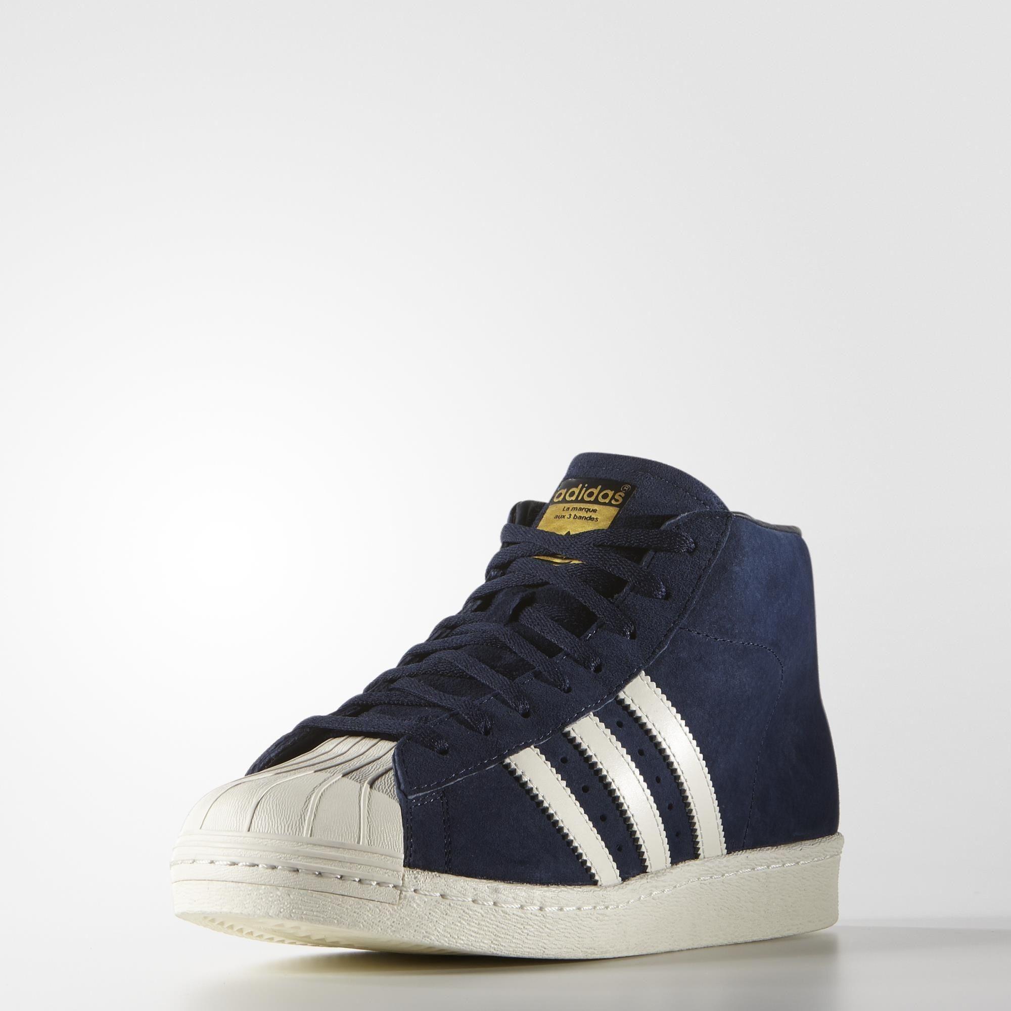 adidas Pro Model Vintage DLX Shoes - Blue | adidas US