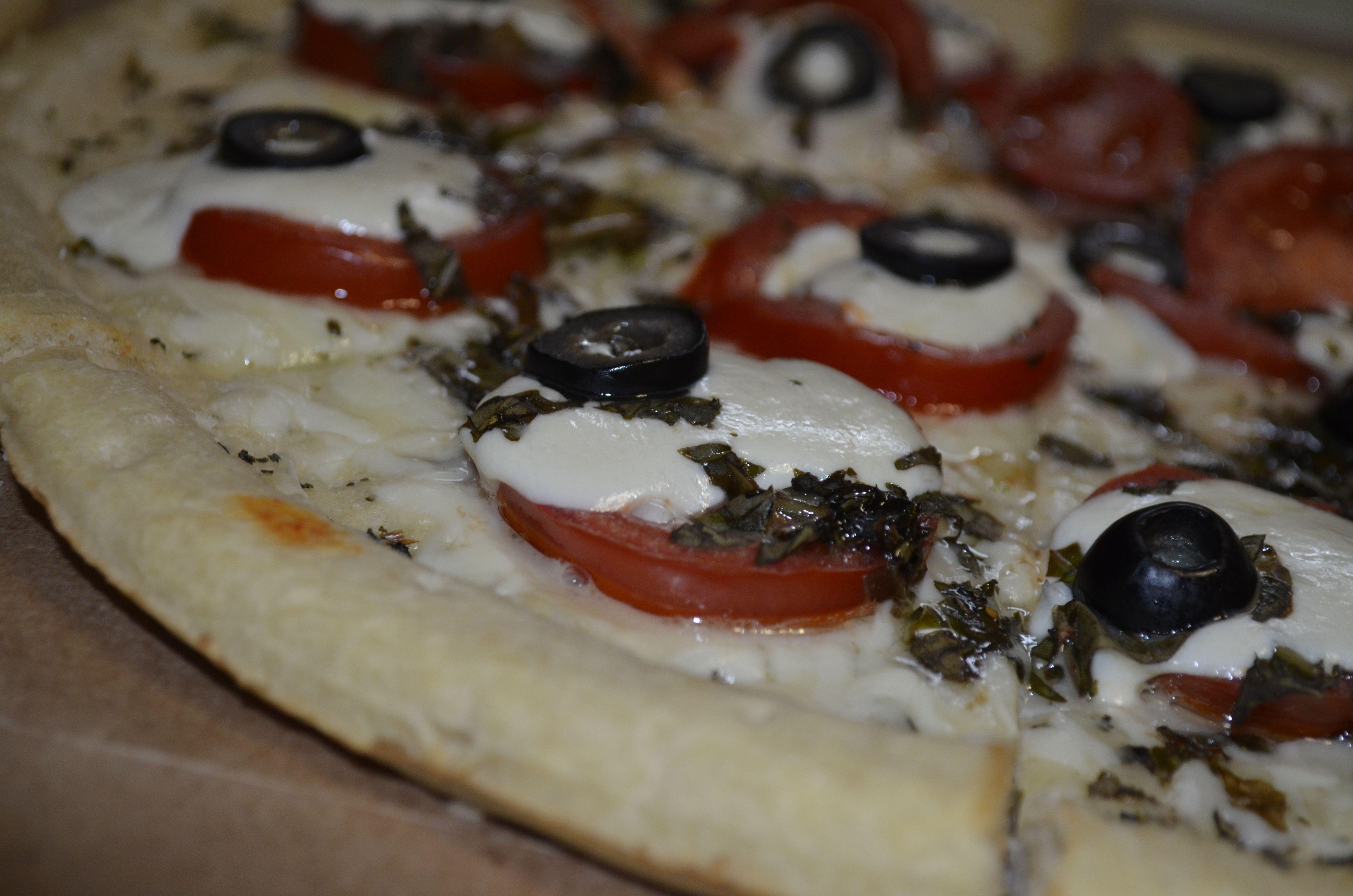 Pizza Night! Italiano Basil Pesto Pizza...I can't stand it, it's SOOOO Good!!!!